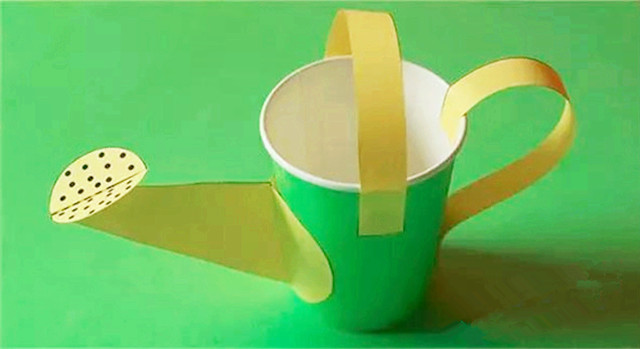 【手工】纸杯浇水壶