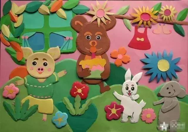 【环创】春天动物主题墙(上)