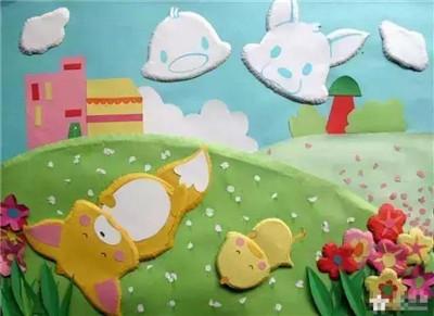 【环创】春天动物主题墙(下)