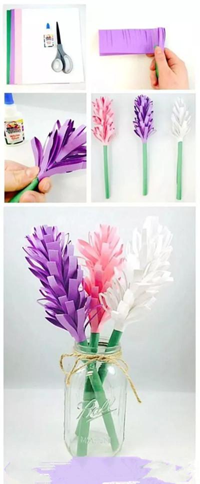 【手工】小花朵迎春天