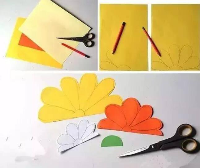 幼儿园创意diy花环手工制作教程