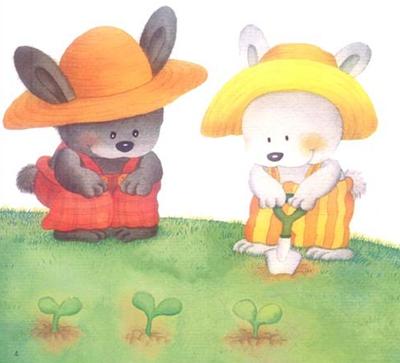 【中班】【泥工】《种萝卜》