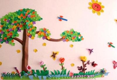 3,环境创设内容的全面性和系统性 多数幼儿园的布置内容单调,多为动物