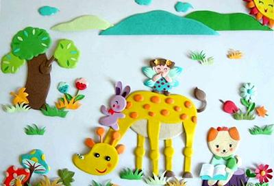 幼儿园设置小红花园地,是为了表扬和鼓励幼儿进步,激发动儿积极向上的