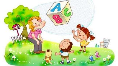 """先告诉幼儿:""""春天到了,大树,天气,人,花,草,小动物呀,都有一些变化."""