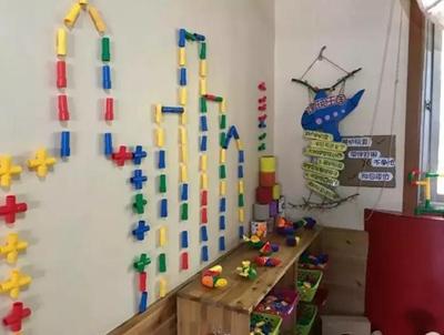 幼儿园建构区环境创设及材料投放