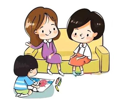 幼儿园关系秋天的简笔画