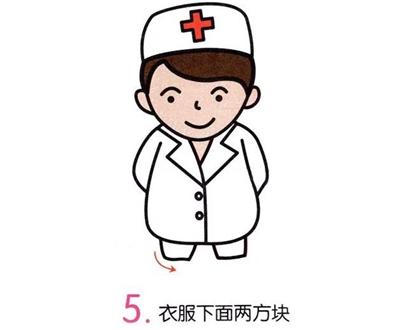 【简笔画】医生图片