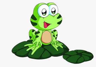 【户外游戏】大小青蛙跳荷叶图片