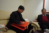 国家教育部《中国教育报》副社长雷振海