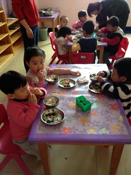 亲子课程——快乐进餐
