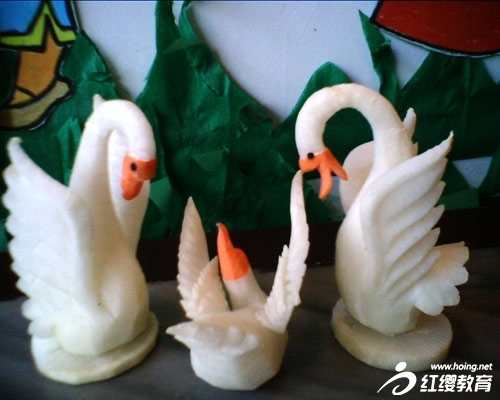朔州新蕾幼儿园主题活动——让孩子爱蔬菜