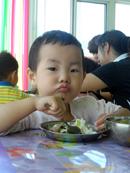 幼儿园的饭菜真香啊!
