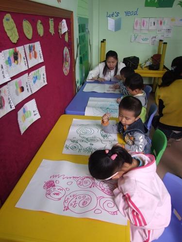 红缨专家蒋燕老师到山东茌平新世纪幼儿园培训