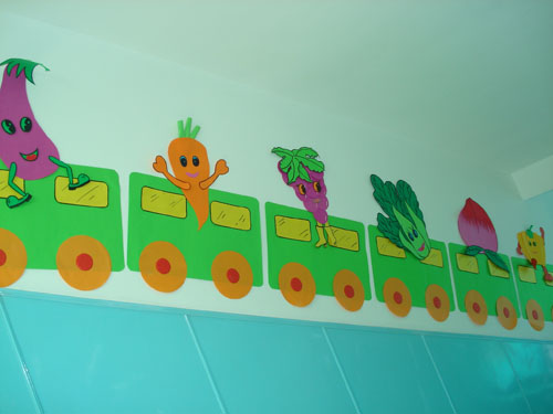 河北霸州双语艺术幼儿园环境布置图片展示