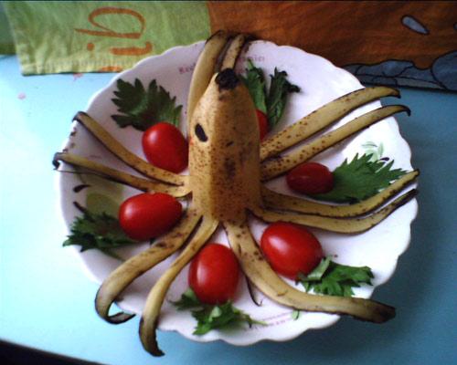 儿童素描蔬菜步骤图片