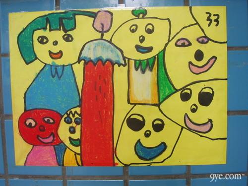 幼儿园创意棉签粘贴画教案
