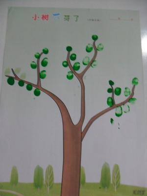 小小(二)小树发芽了