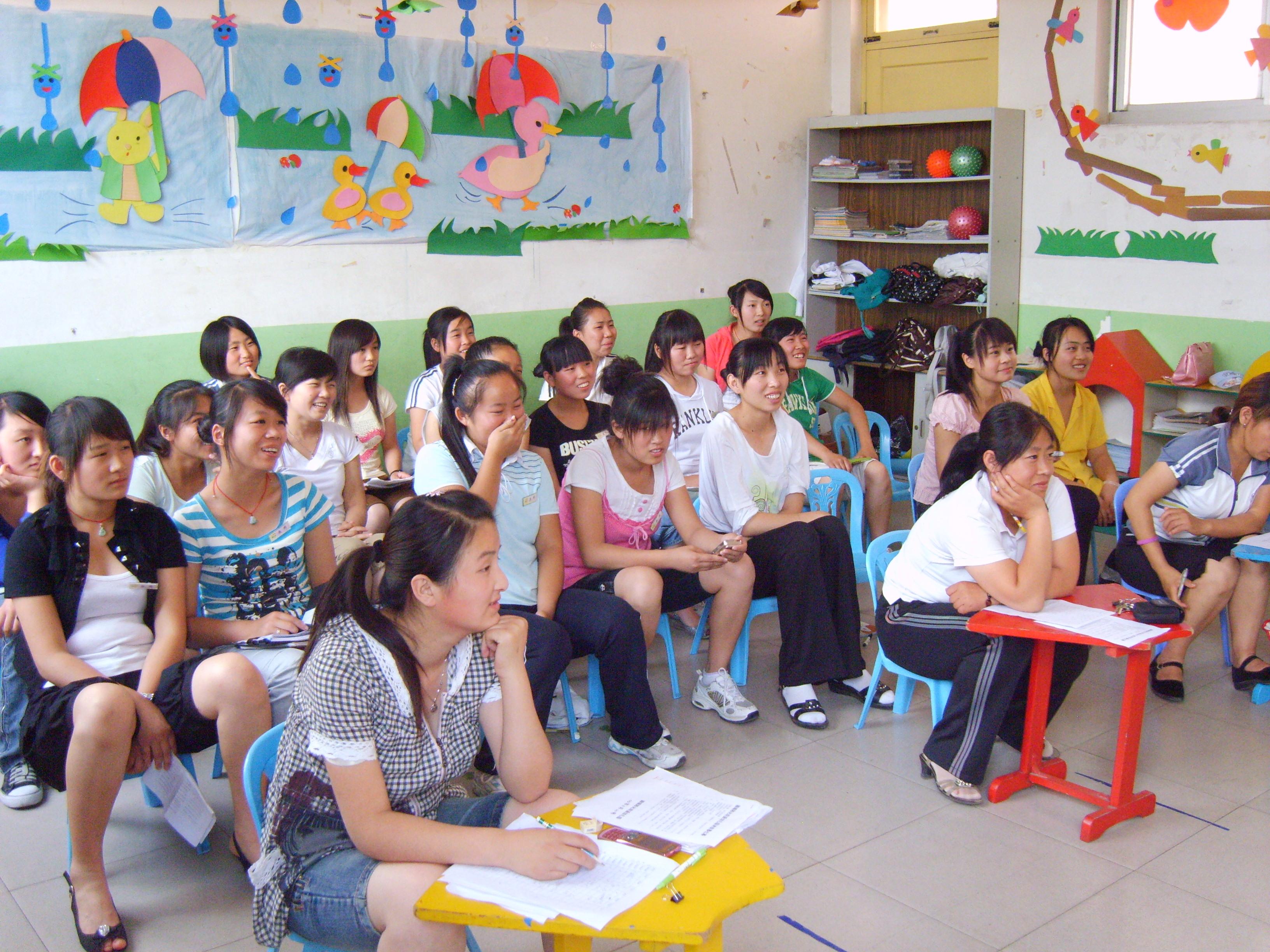 聊城阳光双语幼儿园教师技能考核
