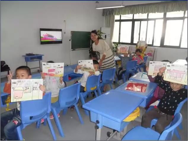 北京红缨连锁幼儿园怎么庆国庆的