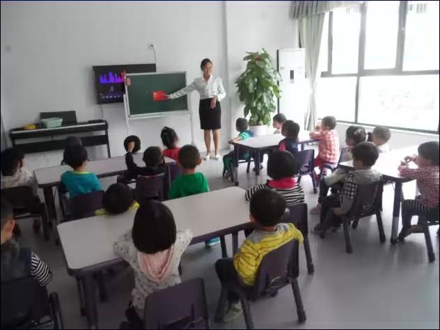 幼儿园听课教学活动